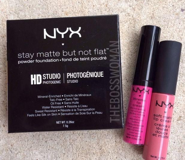 Ulta Haul: NYX Cosmetics @Luuux #Nyxcosmetics #Mattefoundation #Ulta #Lipcream #Softmatte