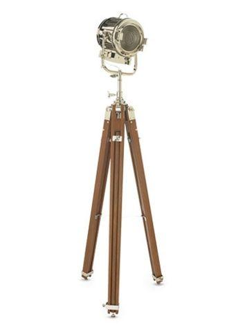 Montauk Tripod Searchlight Ralph Lauren Home Floor Lamps
