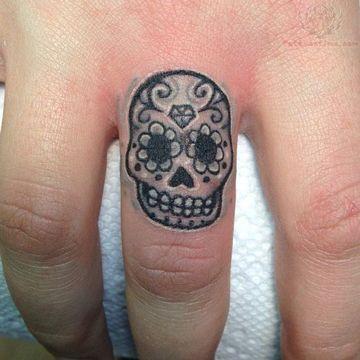 Imagenes De Tatuajes De Calaveras Pequeñas Para Mujeres Tatuajes