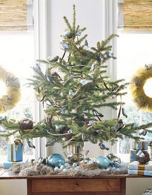 The Jewel Box Home Smaller Christmas Trees for Smaller Homes - how to decorate a small christmas tree