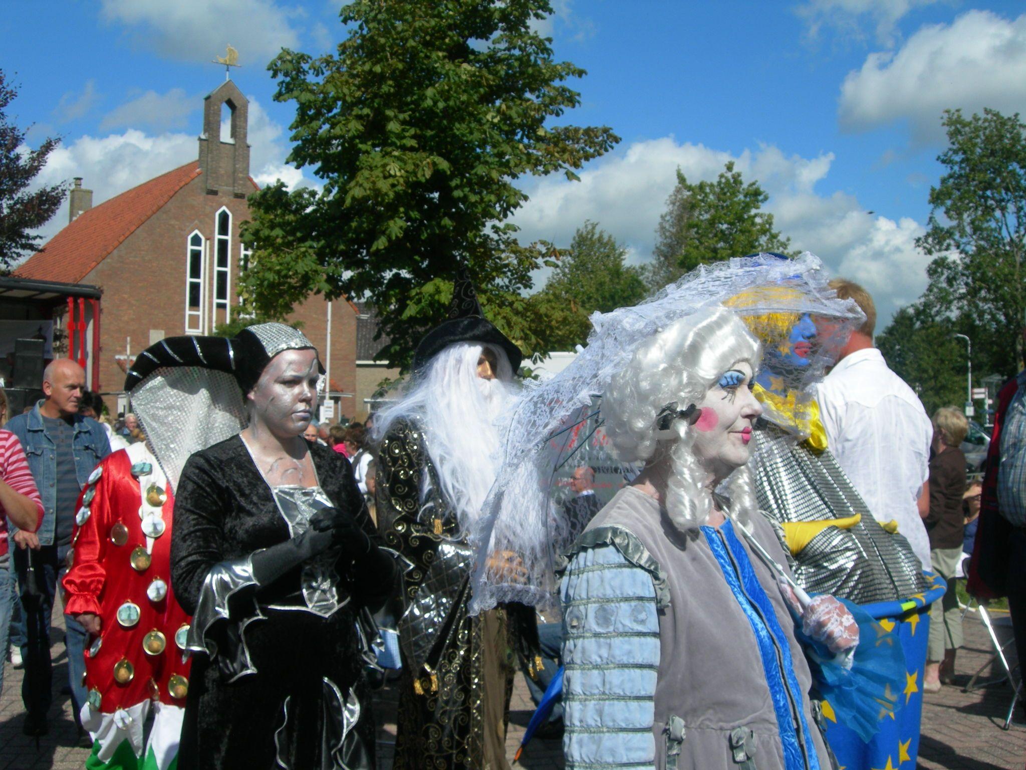 Feest yn Eastermar. eigen bayke foto. Friesland