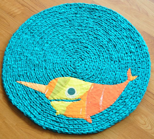 Happy Narwhal Rug | Flickr - Photo Sharing!