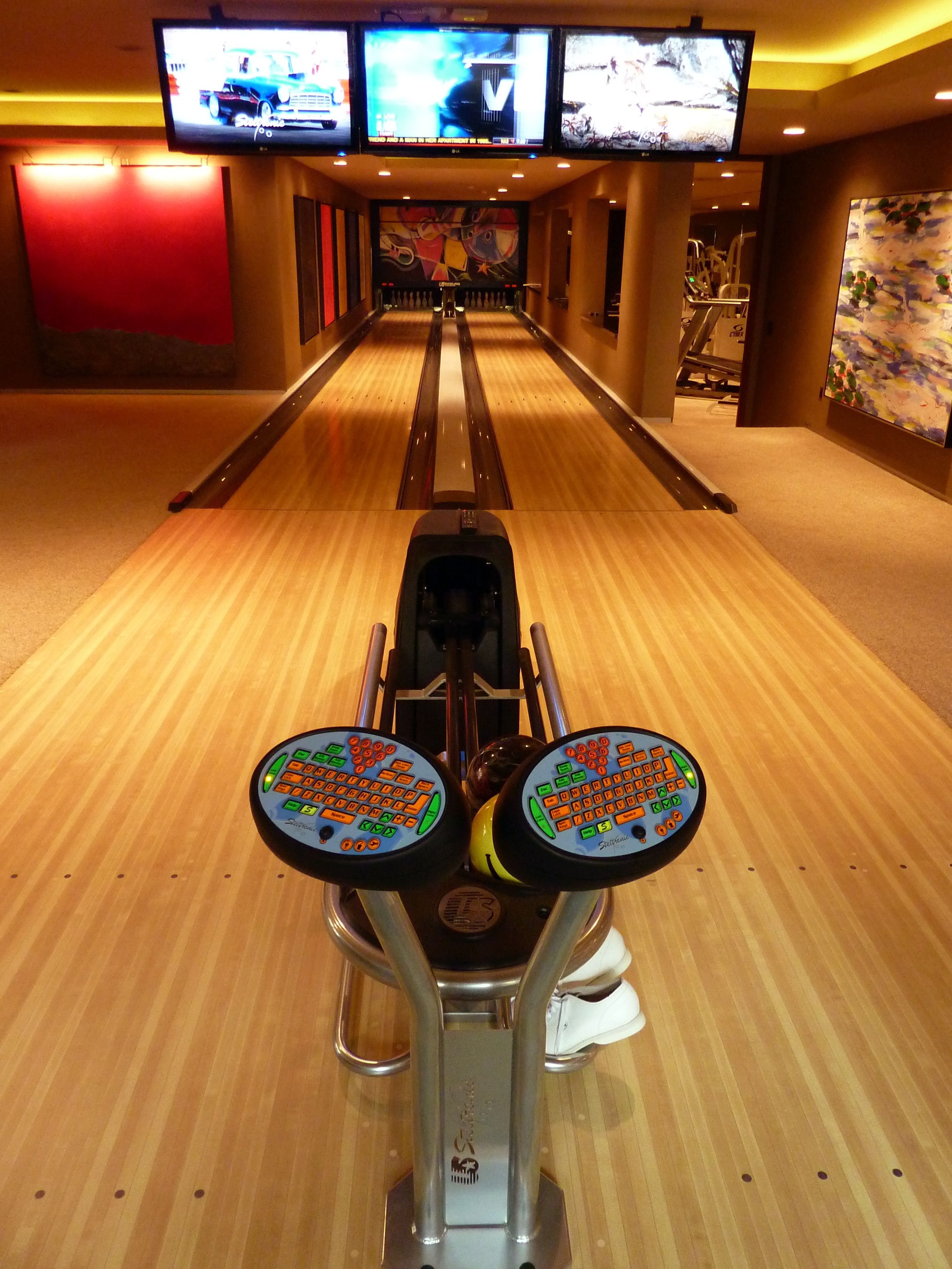 Tiny Home Designs: Residential Home Bowling Alley