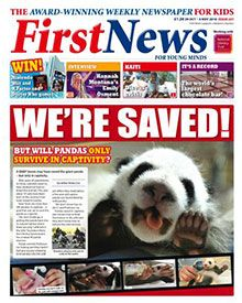 First News is the award-winning weekly newspaper for children (aged 7-14). In 24 pages every week the newspaper features a blend of stories about world and home affairs, the environment, sports, entertainment and puzzles all selected to engage young minds.