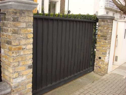 Wrought Iron Fences And Gates With Privacy