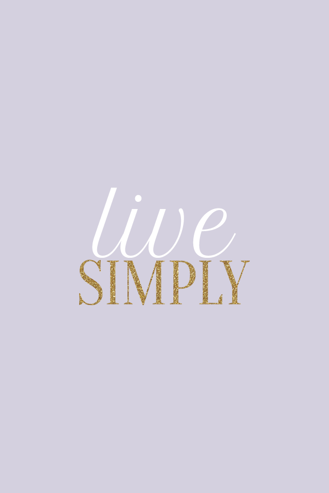Lilac Gold Lavender Live Simply Iphone Background Wallpaper Phone