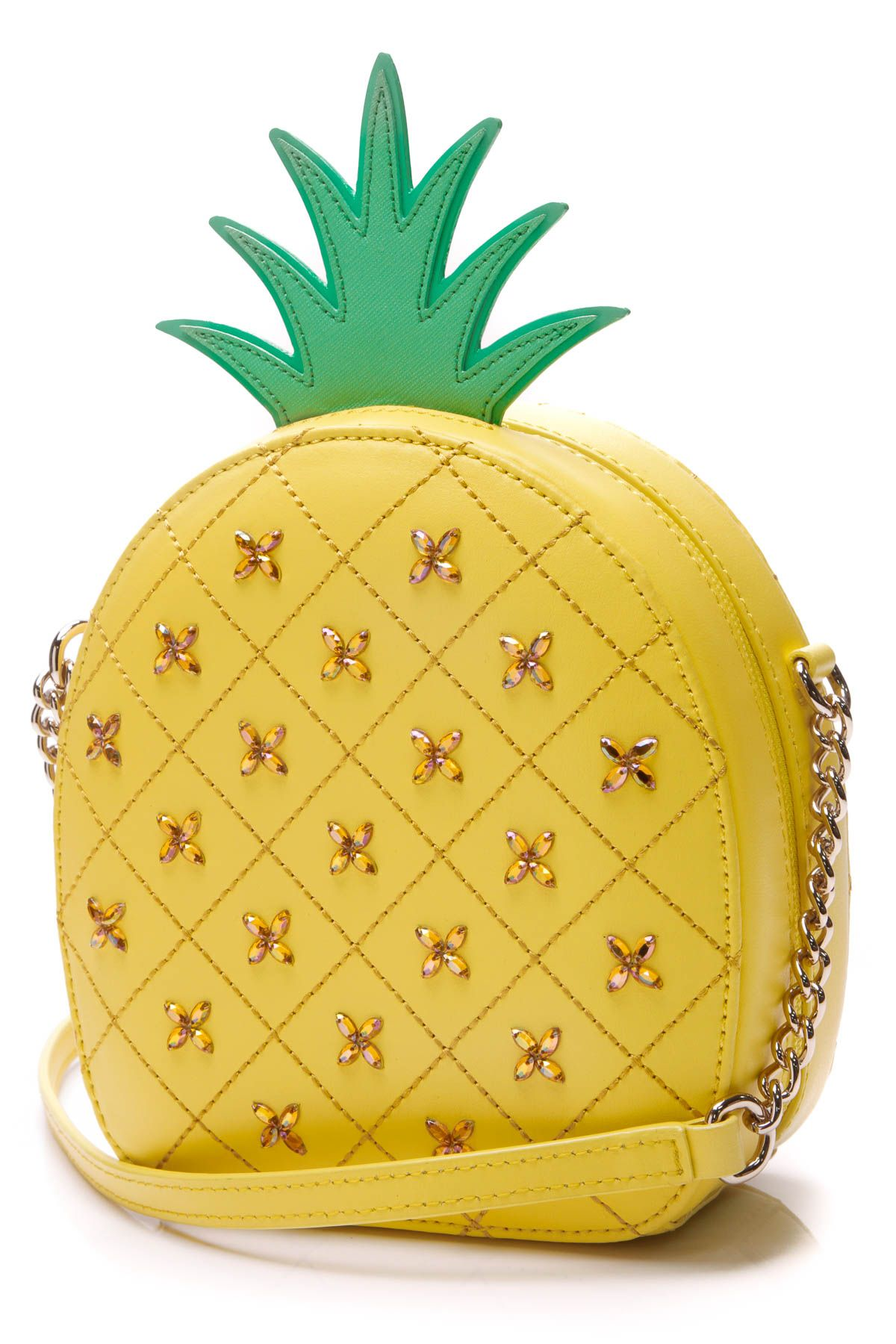 3a08e0d5e43f How Refreshing Pineapple Crossbody Bag - Yellow in 2019 | Spring ...