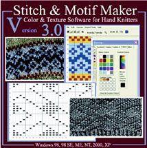Stitch Motif Maker By Knitting Software Machine A Tricoter