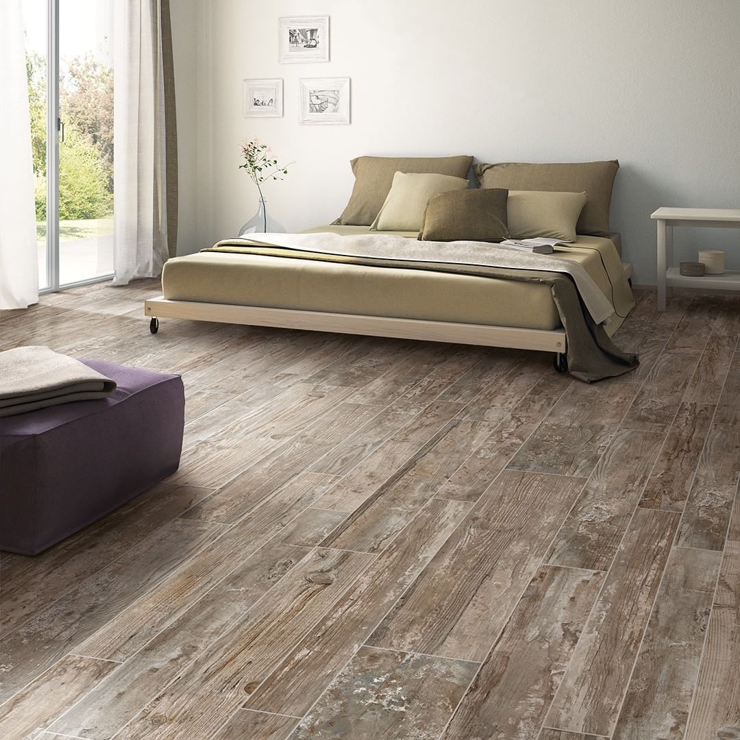 Instagram  Tile bedroom, Bedroom flooring, Wood look tile floor