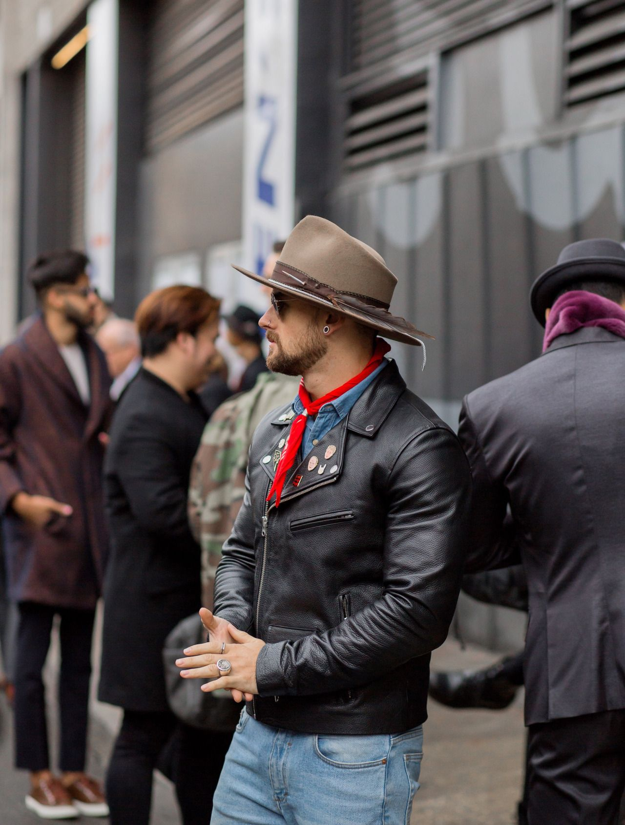 Men's Hat Inspiration #1 I recently bought my... | MenStyle1- Men's Style Blog