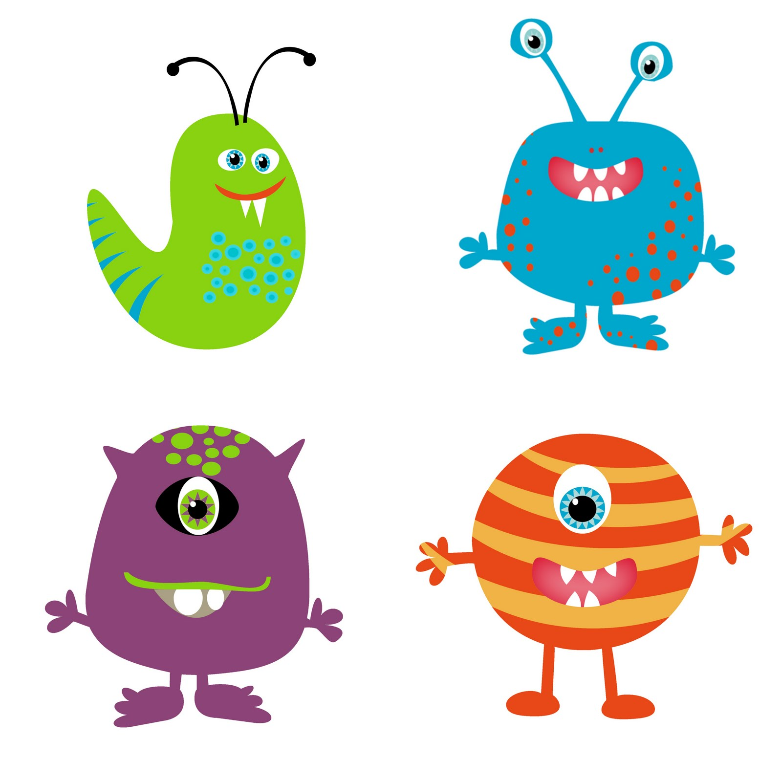 pinwhirl parties you are invited to our monster laboratory rh pinterest nz cute halloween monster clipart cute monster clipart free