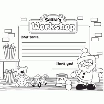 Letter to Santa s Workshop Free