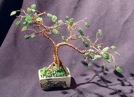 bonsai de mostacillas