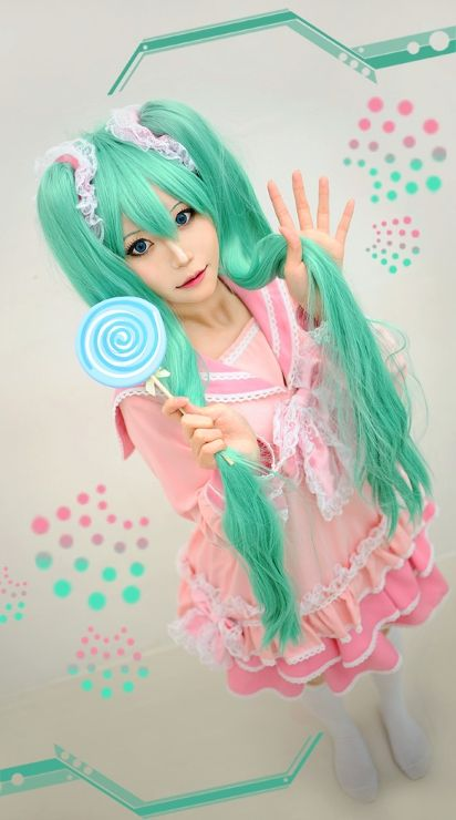 Hatsune Miku Lol Outfit Also My Next Cosplan 3 Japanese Cosplay Vocaloid Cosplay Miku Cosplay