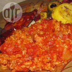Arroz De Forno Com Molho De Tomate Receita Arroz De Forno