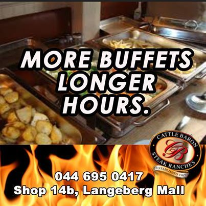 Cattle Baron Mossel Bay Is Bringing You More Buffets With Longer
