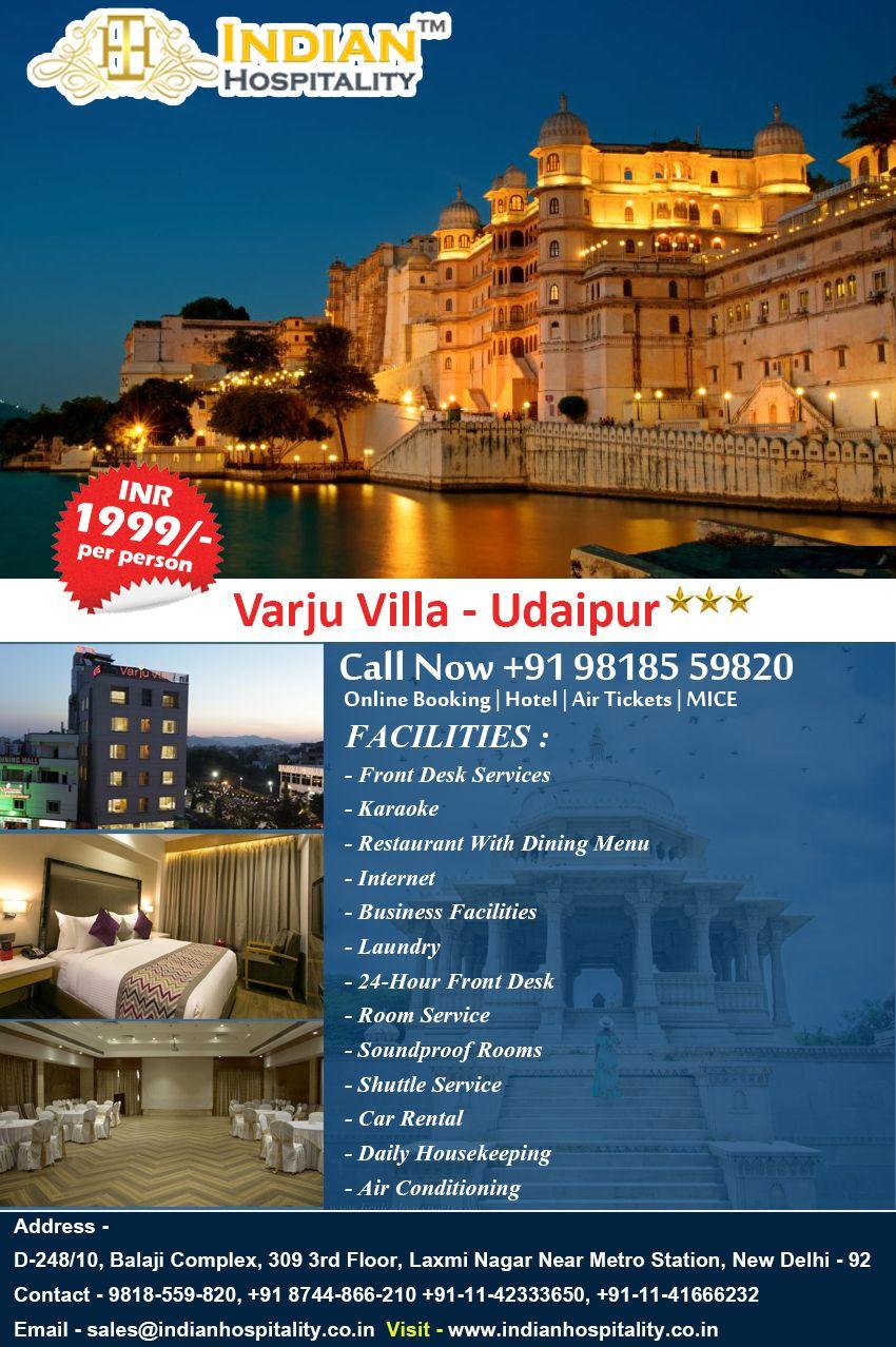 Holidays Travel in India Varju Villa Udaipur Indian