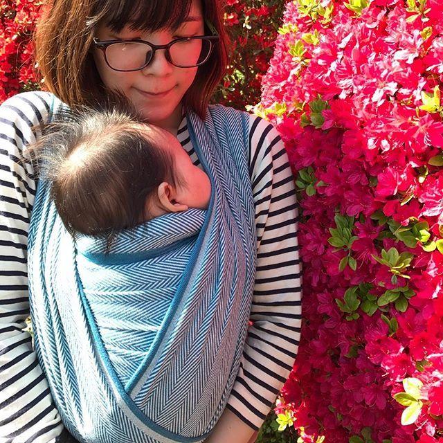Didymos Lisca Baby Wrap Sling Size 5, Burgundi