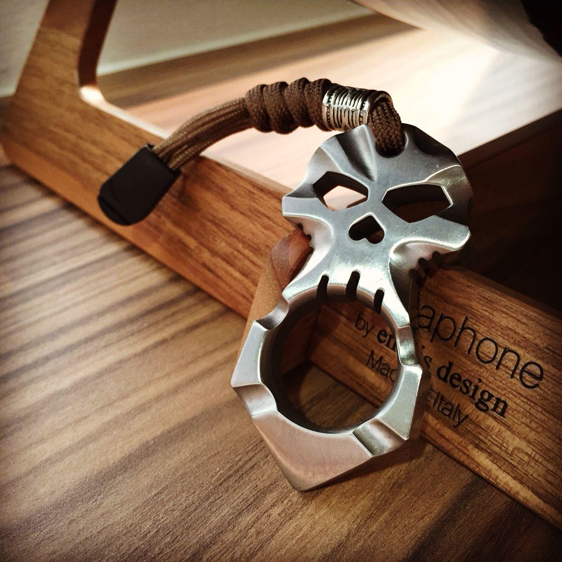 Got it today!! G-JMD Ti Titanium EDC Ferocious Skull Skeleton (Self-Defense Tool)  #gjmd #titanium #edc #edcgear #edcmini #tititanium #selfdefense #edctool #edctoday #skullgear #skeleton #tigear #everydaycarry #everyday_carry #tactical #knuck #knucksdaily #knucks