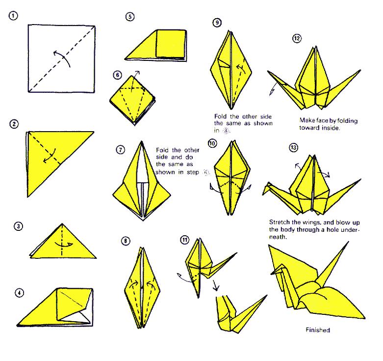 oiseau origami recherche google origami pinterest origami cygne cygne et origami. Black Bedroom Furniture Sets. Home Design Ideas