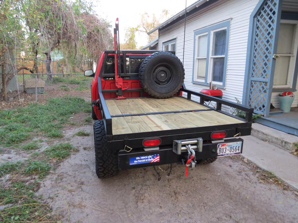 Plans for flatbed ford f350 - Flat Bed