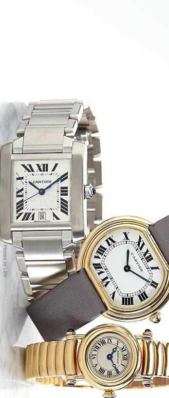~Vintage Cartier Watches | The House of Beccaria