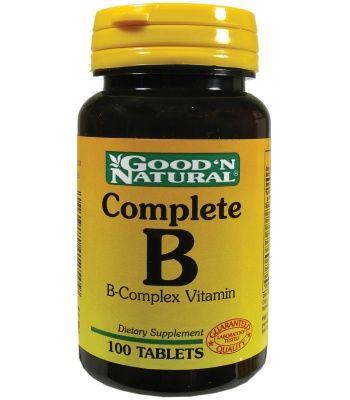 Vitaminas, Suplementos naturales Vitaminas y Minerales Complete B