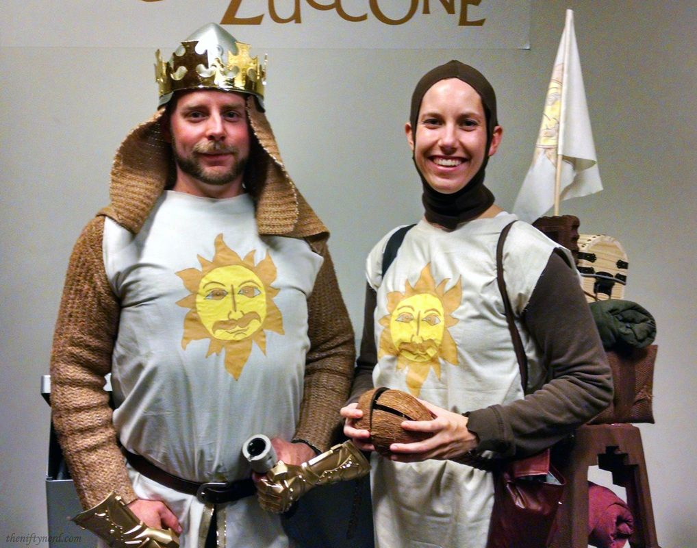 Knights of the round table monty python - King Arthur Patsy Tutorial Cosplay On A Budget Monty Python The Holy