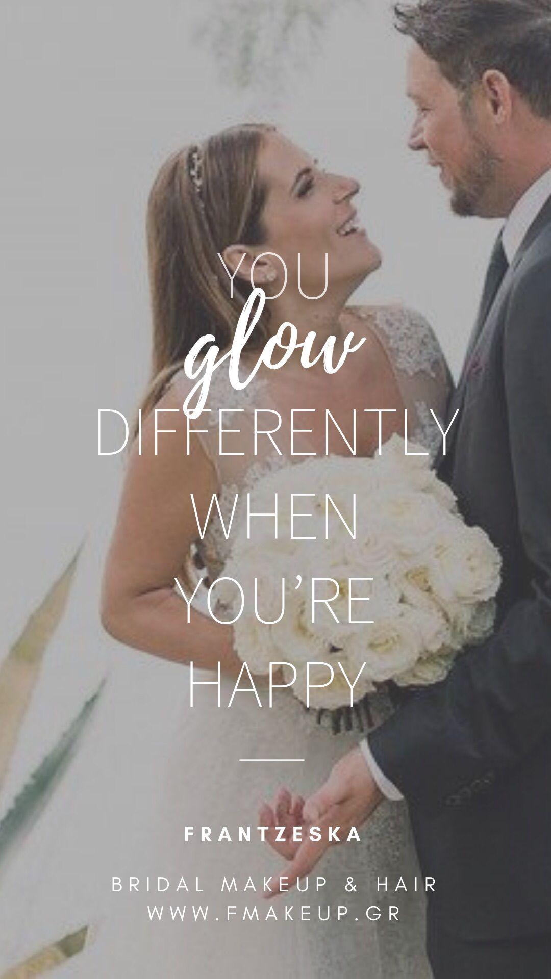 quote, love, happy, groom, bride, bridal, makeup, makeup