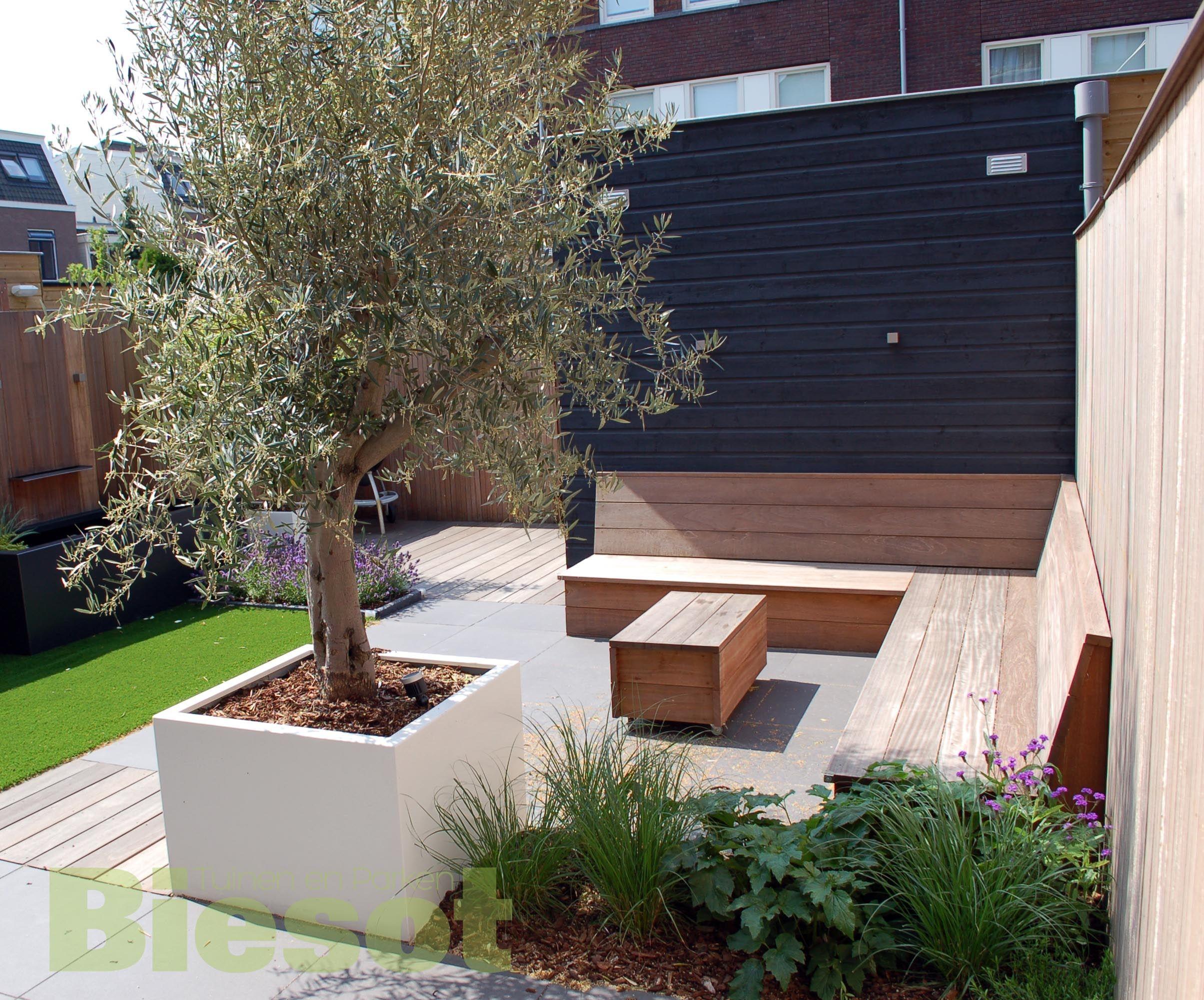 Tuinontwerp kleine tuin eigentijdse kleine tuin nieuws biesot