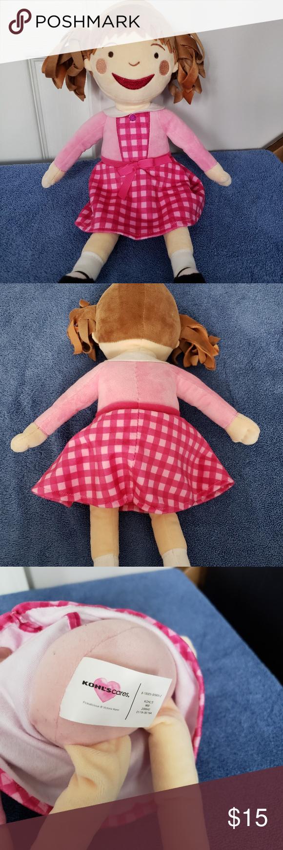 Kohls Cares Pinkalicious Plush Doll Plush Toy 15'' Kohls