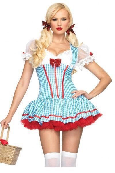 Dorothy Costume New Sexy M L Cute Leg Avenue | eBay  sc 1 st  Pinterest & Dorothy Costume New Sexy M L Cute Leg Avenue | eBay | HALLOWEEN ...