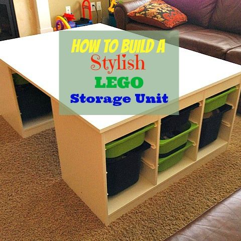 The Logistics of LEGO: How to Build a Stylish (& Functional) LEGO ...