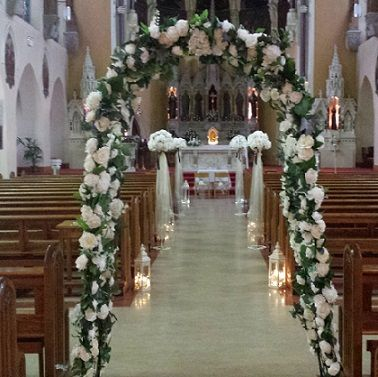 Church Decoration Package Shows St Mary Of The Angels