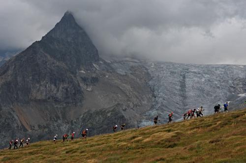 26/08/2011-CCC-Montée Grand Col Ferret (ITA)  © The North Face® Ultra-Trail du Mont-Blanc®-Pascal Tournaire