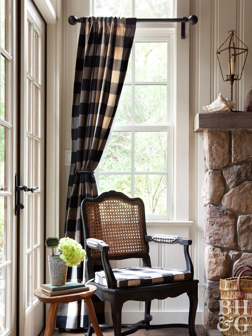 17 Rustic Window Treatments You Ll Want To Try Now Window Treatments Living Room Rustic Window Treatments Living Room Windows