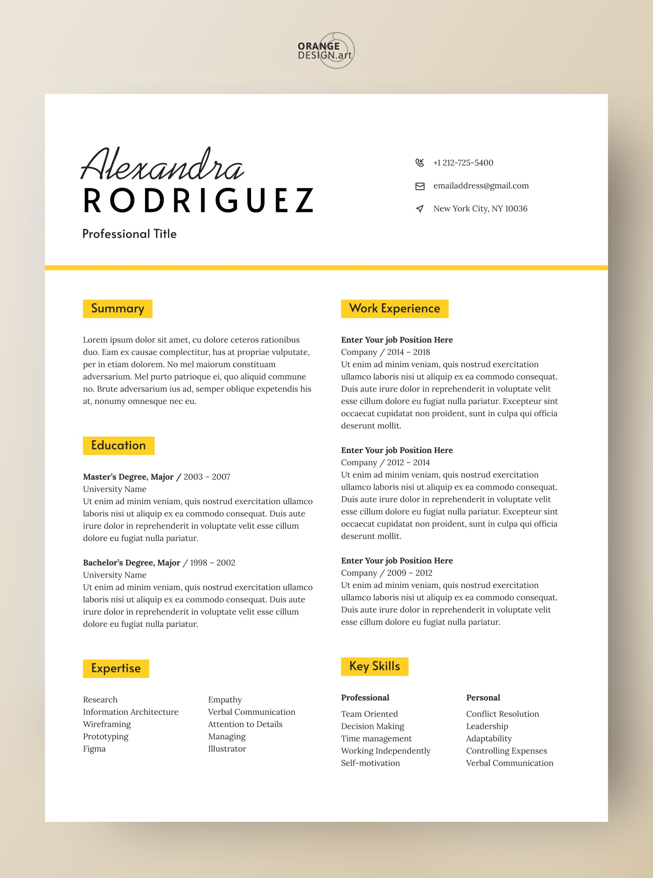 Pin on Resume Templates for Word
