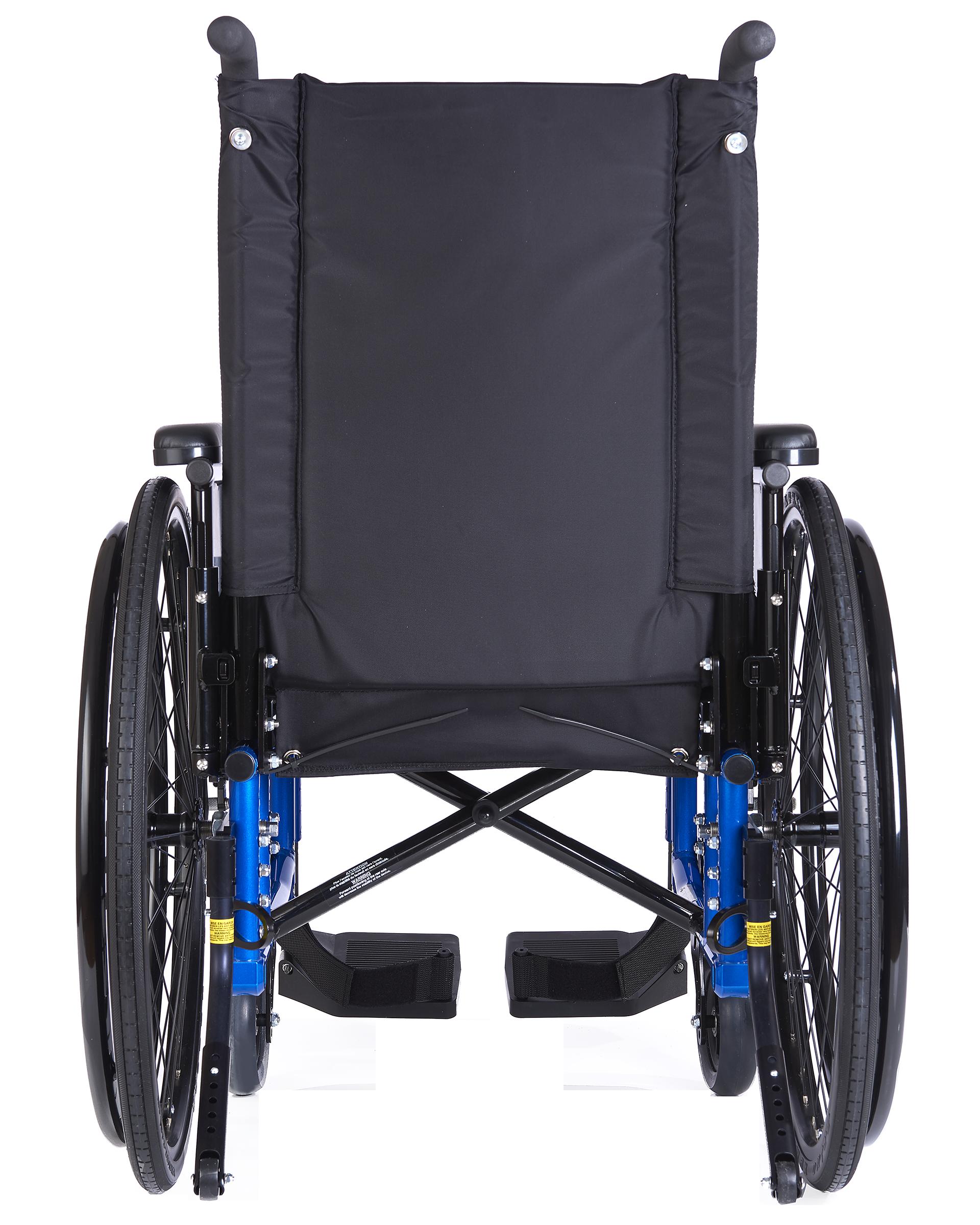 Manual Wheelchair Xl5 Back View