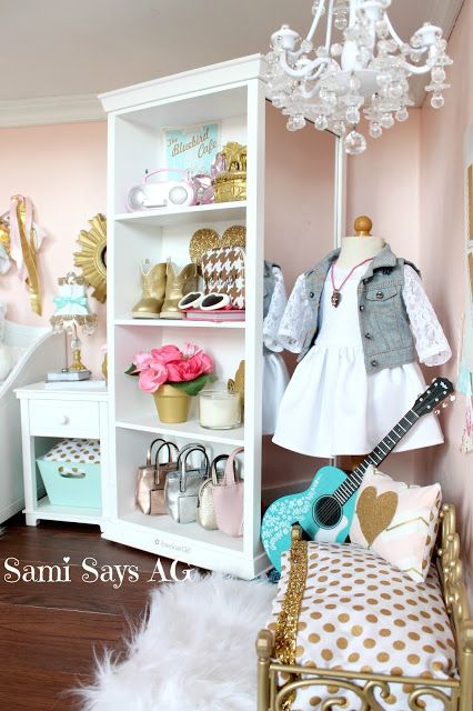 Sami Says AG-- American Girl Doll House Room, Tenney Grant #americangirlhouse