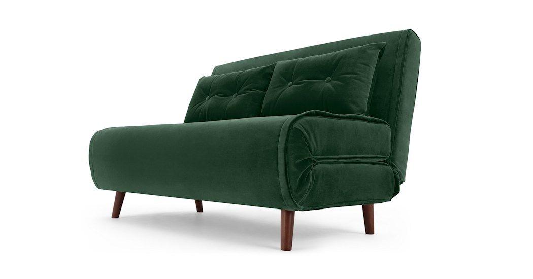 Small Sofa Bed In 2020 Single Sofa Bed Sofa Bed Green Small Sofa Bed