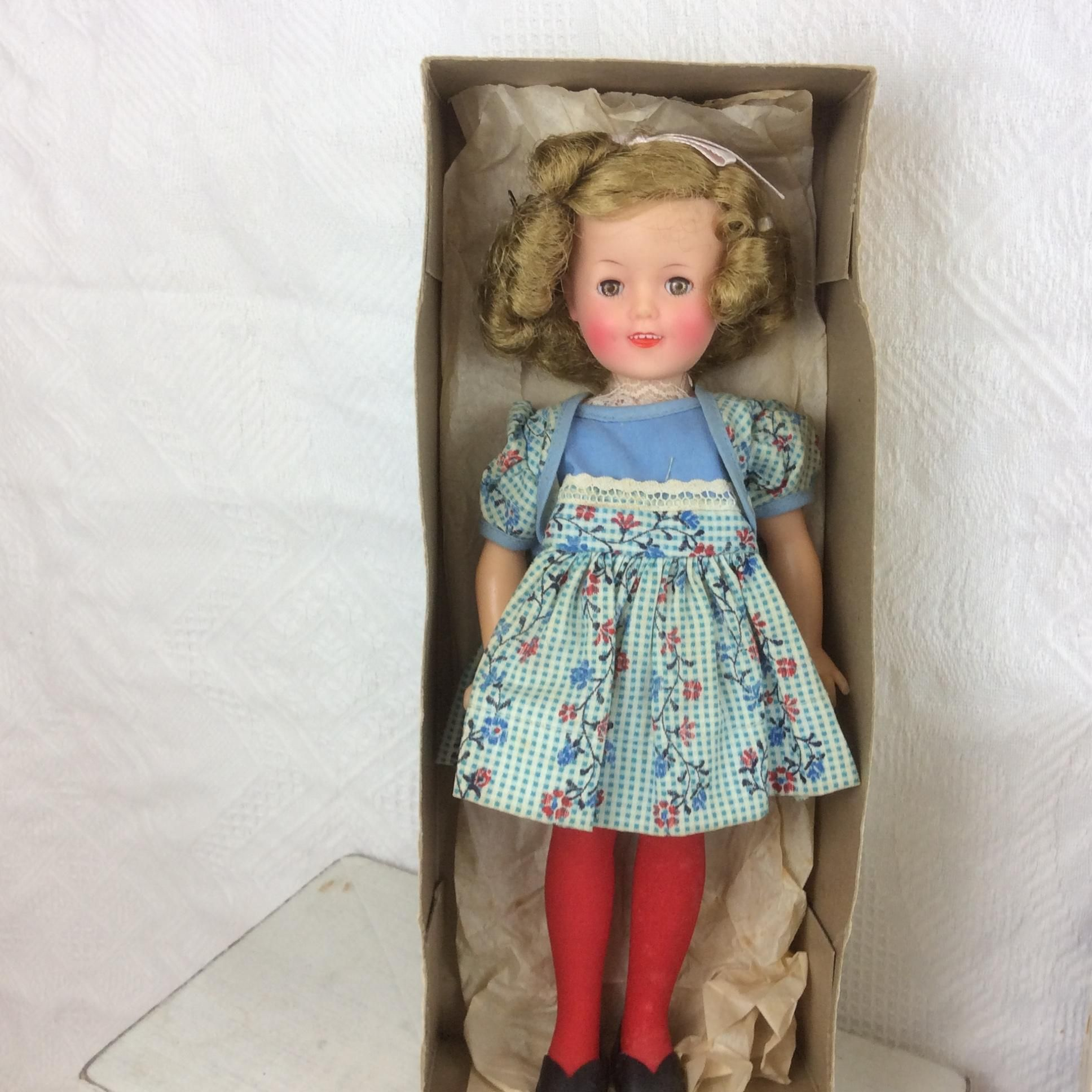 12 Mib Ideal Vinyl 1957 Shirley Temple All Original Antique Dolls Vintage Dolls Shirley Temple