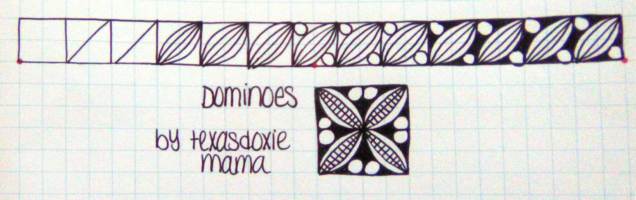 Dominoes tangle