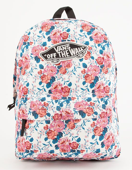 a9fbf481a5 VANS Hana Floral Realm Backpack