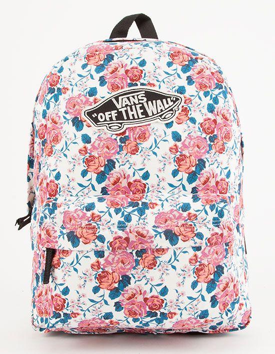 407eff9ced9a VANS Hana Floral Realm Backpack