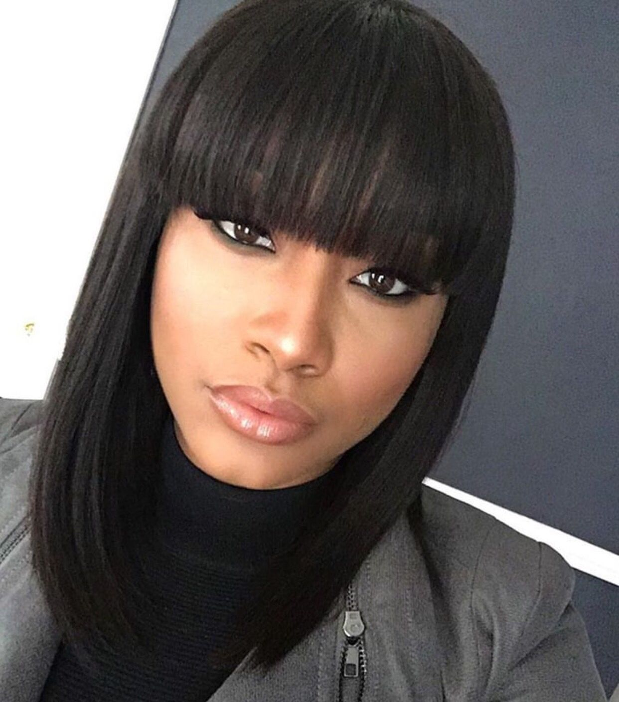 Pin By Necole Turner On Hair Laid Natural Hair Styles Long Hair Styles Bob Hairstyles