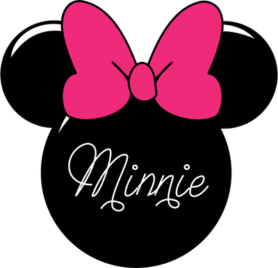 minnie mouse clipart emmy anali minnie mouse silhouette vector rh pinterest com