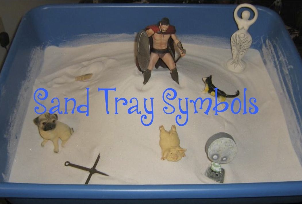 Sand Tray Symbols Click The Photo To See A List Of Common Sand Tray