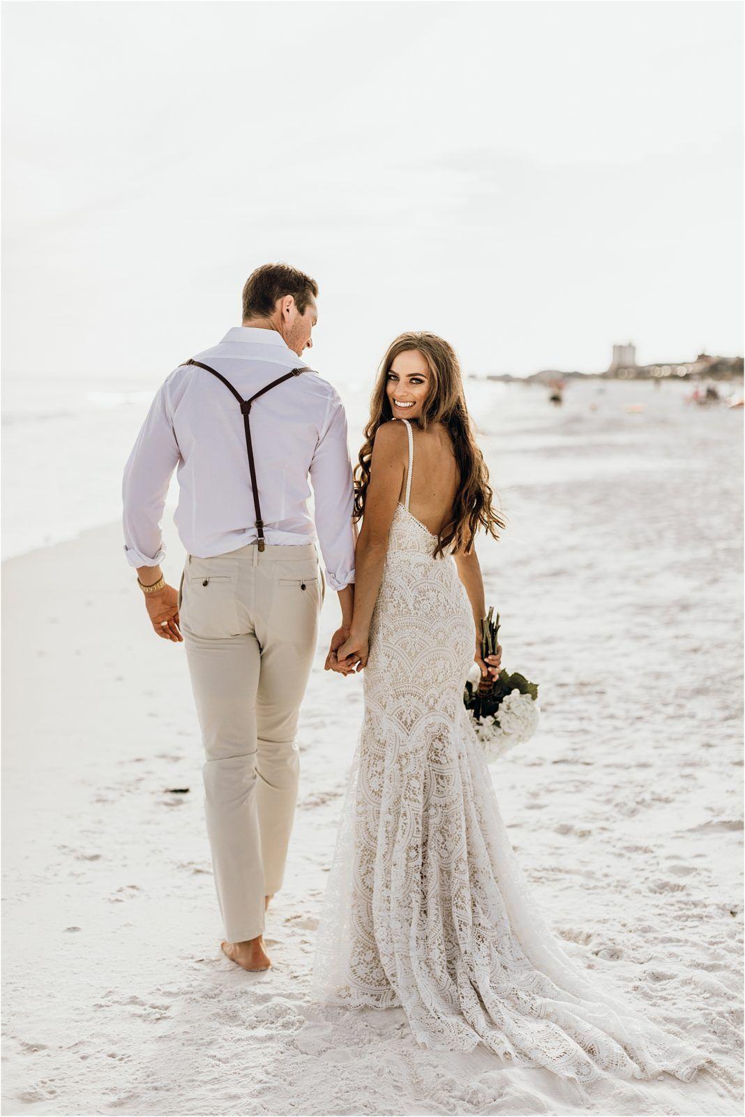 Lauren + Jon | Stones Throw Miramar, Florida Beach Destination Wedding | Love, Anneliese Photography – loveanneliese.com – mr. + mrs. haka