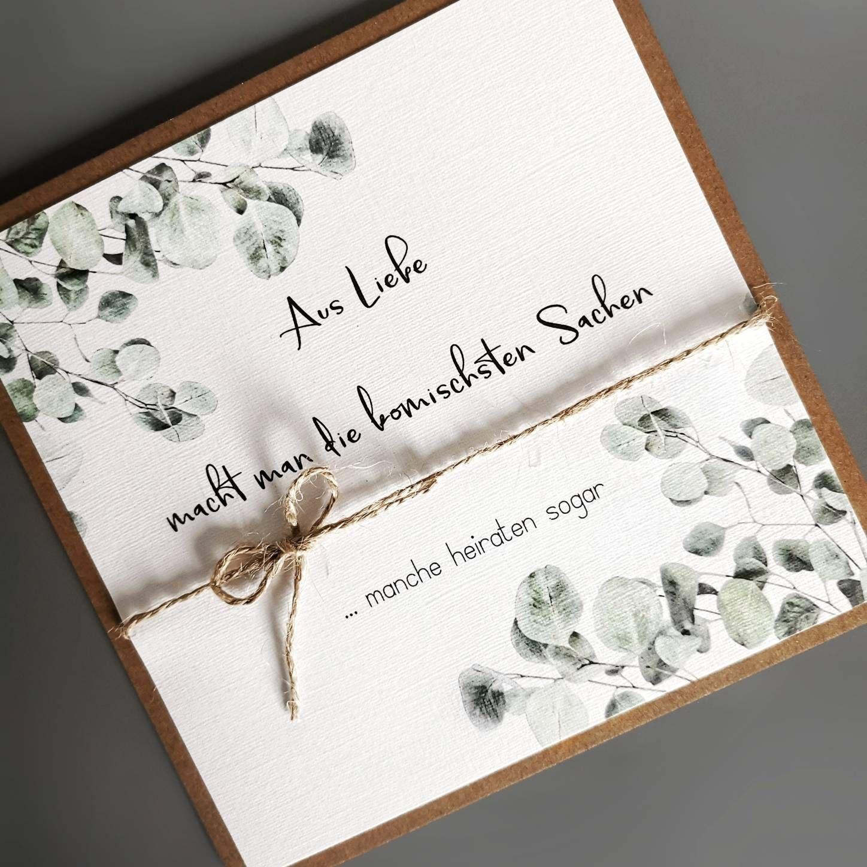 Eukalyptus Einladung Hochzeit #Einladung #Eukalyptus #Hochzeit #Hochzeitsideen
