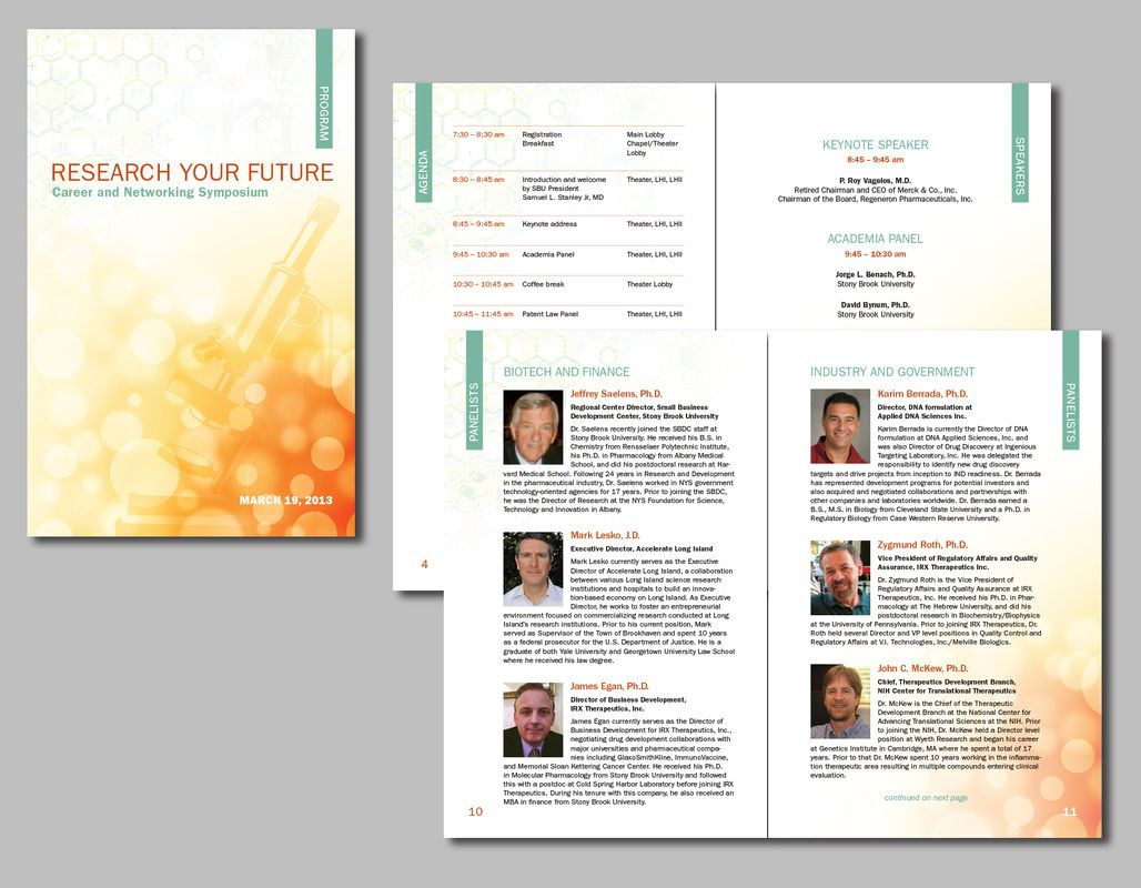 Brochures Flyers Bowman Illustration And Design
